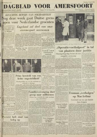 Dagblad voor Amersfoort 1951-04-09