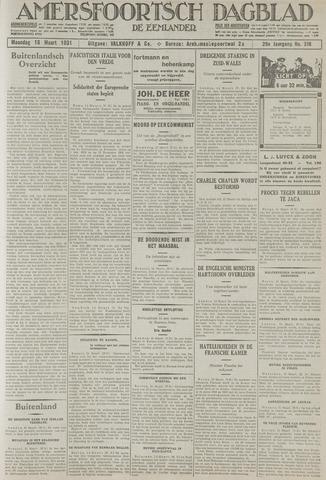 Amersfoortsch Dagblad / De Eemlander 1931-03-16