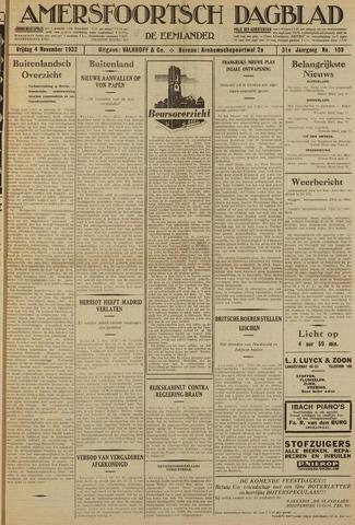 Amersfoortsch Dagblad / De Eemlander 1932-11-04