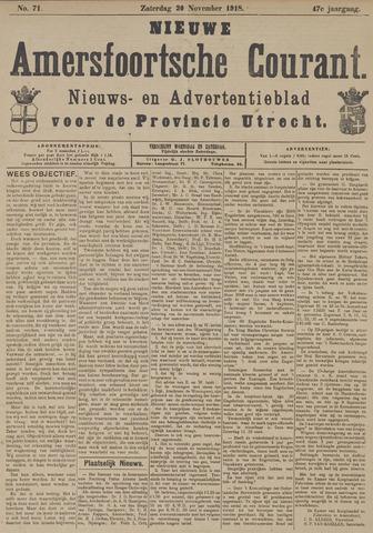 Nieuwe Amersfoortsche Courant 1918-11-30