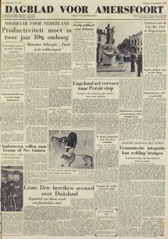 Dagblad voor Amersfoort 1951-09-14