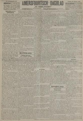 Amersfoortsch Dagblad / De Eemlander 1918-10-18