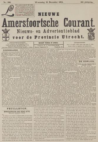Nieuwe Amersfoortsche Courant 1915-12-15