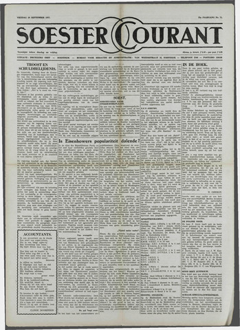 Soester Courant 1957-09-20