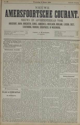 Nieuwe Amersfoortsche Courant 1884-03-19
