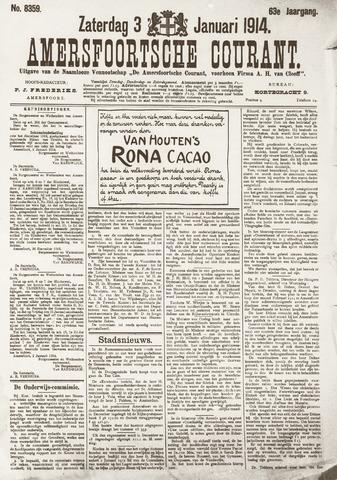 Amersfoortsche Courant 1914