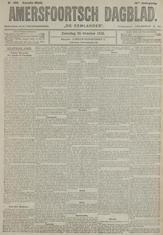 Amersfoortsch Dagblad / De Eemlander 1913-10-25
