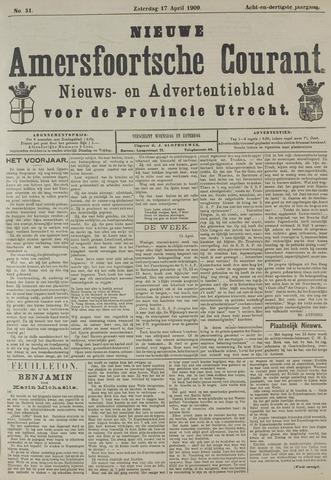 Nieuwe Amersfoortsche Courant 1909-04-17