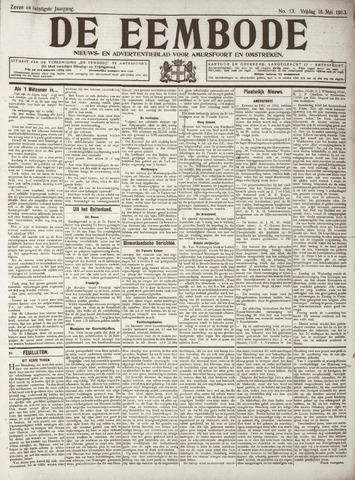 De Eembode 1913-05-16
