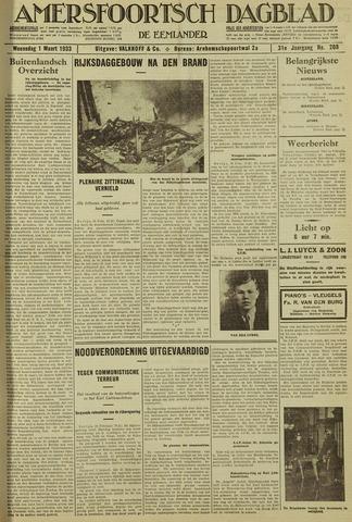 Amersfoortsch Dagblad / De Eemlander 1933-03-01