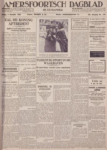 Amersfoortsch Dagblad / De Eemlander 1936-12-04