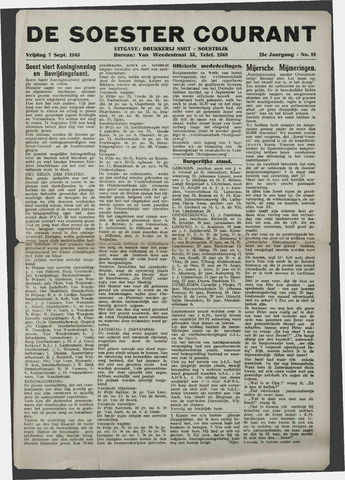 Soester Courant 1945-09-07