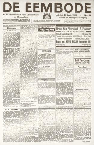 De Eembode 1923-09-21