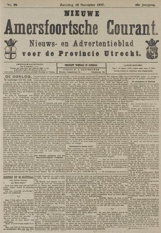 Nieuwe Amersfoortsche Courant 1917-11-10