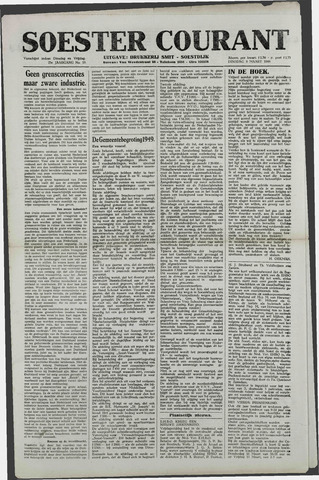 Soester Courant 1949-03-08