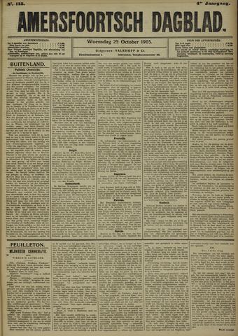Amersfoortsch Dagblad 1905-10-25