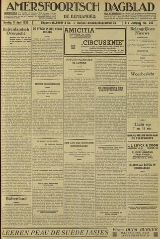 Amersfoortsch Dagblad / De Eemlander 1933-04-11