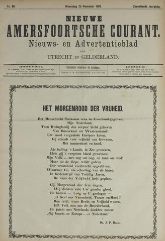 Nieuwe Amersfoortsche Courant 1888-11-28