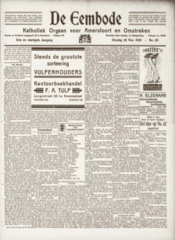 De Eembode 1929-11-26