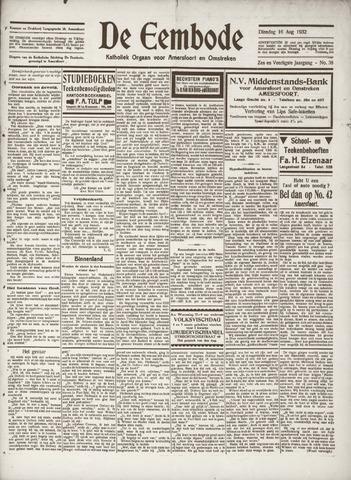 De Eembode 1932-08-16