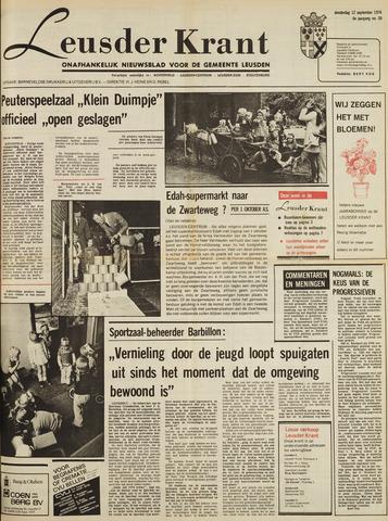 Leusder Krant 1974-09-12