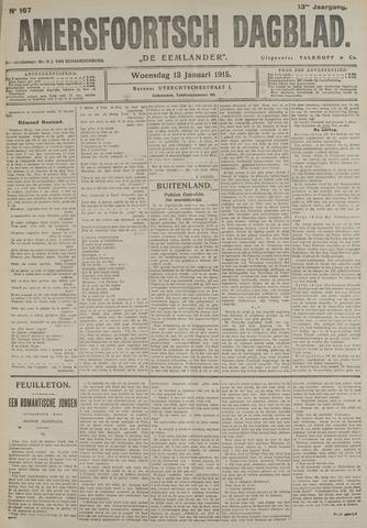 Amersfoortsch Dagblad / De Eemlander 1915-01-13