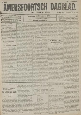 Amersfoortsch Dagblad / De Eemlander 1915-12-13