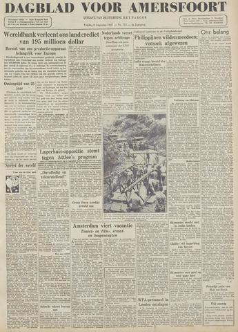 Dagblad voor Amersfoort 1947-08-08