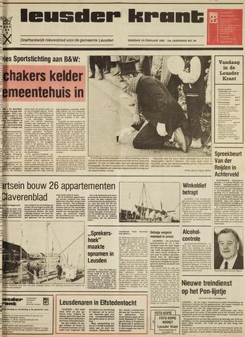 Leusder Krant 1985-02-19
