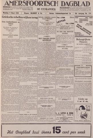 Amersfoortsch Dagblad / De Eemlander 1935-03-11