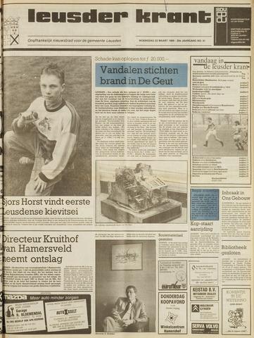 Leusder Krant 1989-03-22