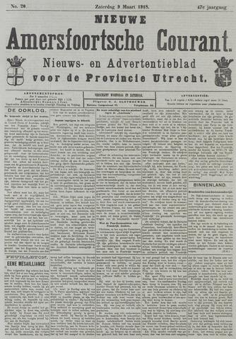 Nieuwe Amersfoortsche Courant 1918-03-09