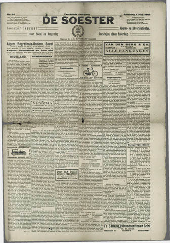 Soester Courant 1926-08-07