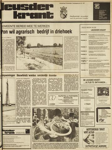 Leusder Krant 1977-11-10