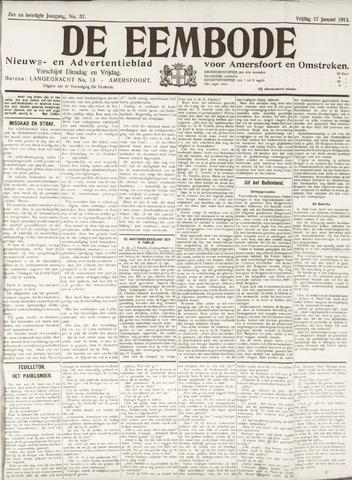 De Eembode 1913-01-17