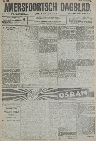 Amersfoortsch Dagblad / De Eemlander 1917-01-16
