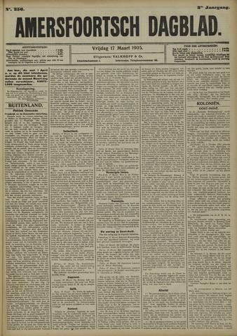 Amersfoortsch Dagblad 1905-03-17