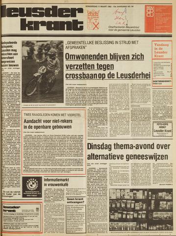 Leusder Krant 1982-03-11