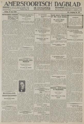 Amersfoortsch Dagblad / De Eemlander 1929-04-26