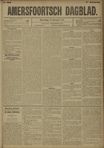 Amersfoortsch Dagblad 1911-01-16