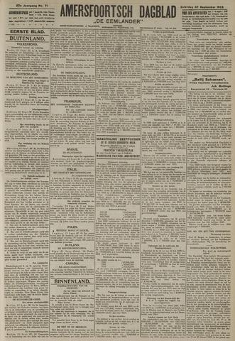 Amersfoortsch Dagblad / De Eemlander 1923-09-22