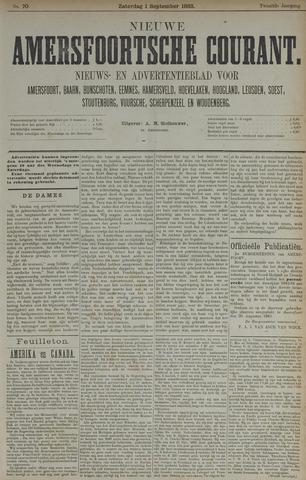 Nieuwe Amersfoortsche Courant 1883-09-01