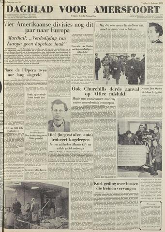 Dagblad voor Amersfoort 1951-02-16