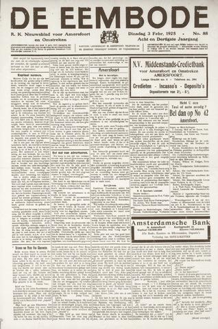 De Eembode 1925-02-03