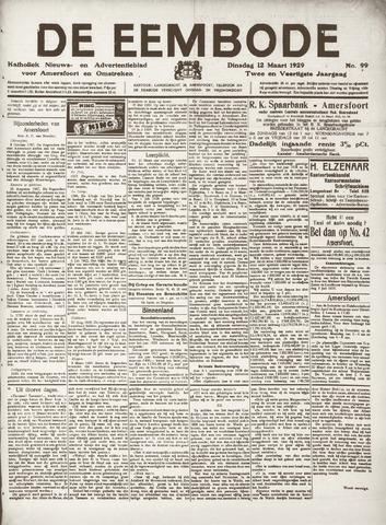 De Eembode 1929-03-12