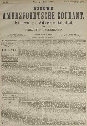 Nieuwe Amersfoortsche Courant 1894-02-14