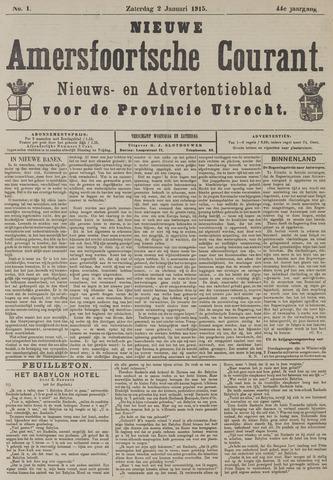 Nieuwe Amersfoortsche Courant 1915-01-02