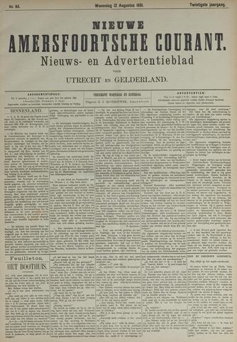 Nieuwe Amersfoortsche Courant 1891-08-12