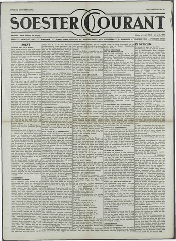 Soester Courant 1958-11-04