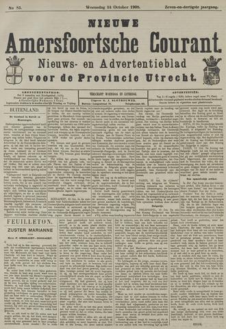 Nieuwe Amersfoortsche Courant 1908-10-14